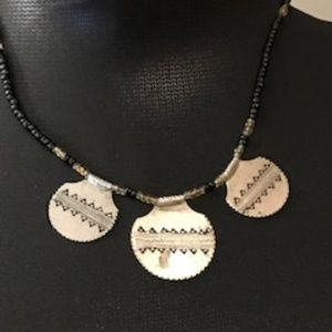 Vintage Ethnic Beaded Necklace